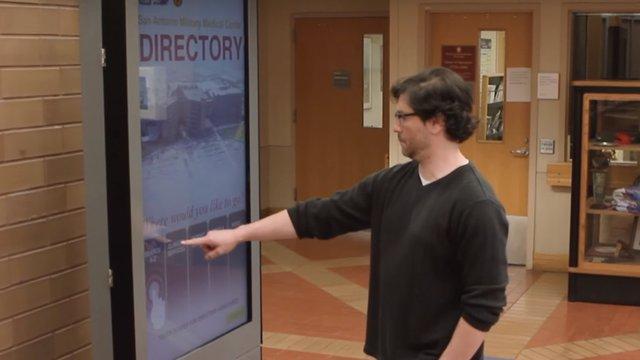 Brooke Army Medical Center deploys touchscreen directory kiosk