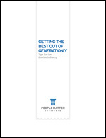 Getting the Best Out of Generation Y