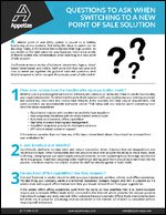 Questions To Ask When Switching To A New Point Of Sale Solution