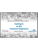 Webinar: Caching in on the Customer Experience