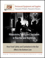 Maintaining Safety and Sanitation in Your Bar and Nightclub
