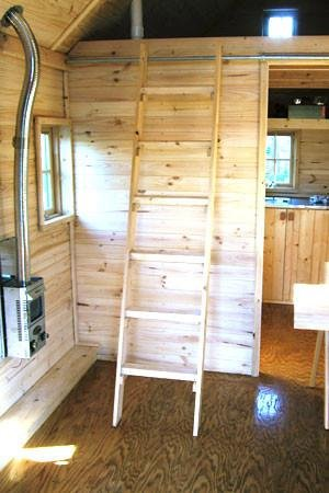 interior of a tiny house