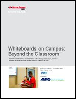 Whiteboards on Campus: Beyond the Classroom