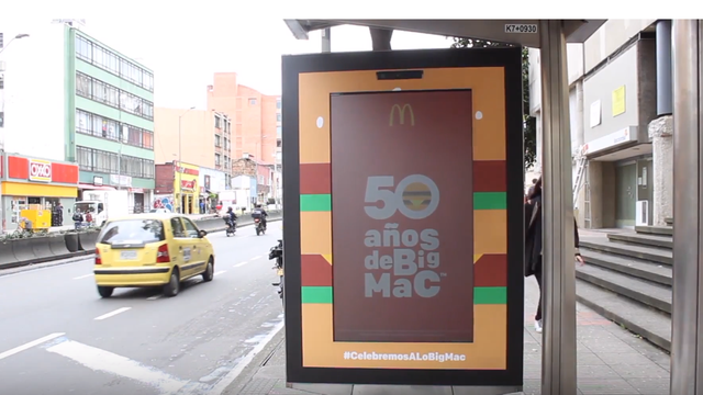 mcdonald s colombia uses interactive signage to get customers dancin