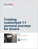 Creating customized 1:1 personal journeys for drivers