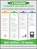 4 Reasons to Modernize your aging ATM fleets Infographic