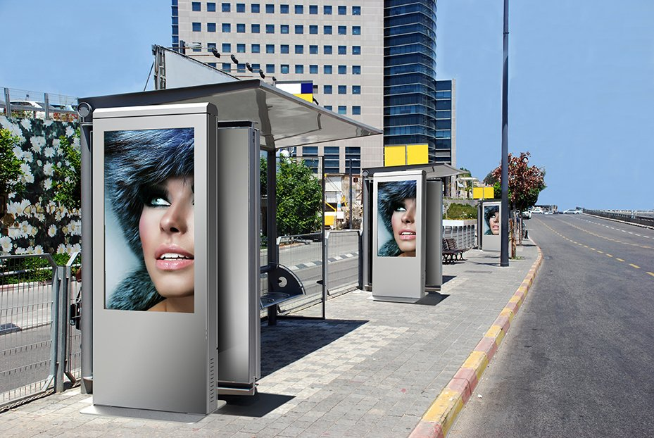 xtreme outdoor portrait kiosk peerless av digital signage solutions digital signage today. Black Bedroom Furniture Sets. Home Design Ideas