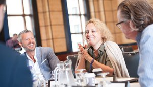 Ekaterina Arakhamia of Pain Quotidien participates in a Brain Exchange discussion.
