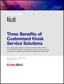 Three Benefits of Customized Kiosk Service Solutions