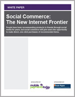Social Commerce: The New Internet Frontier