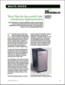 Three Tips for Successful Cash-Automation Implementation