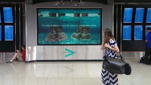 Digital signage is the new normal for travel and hospitality