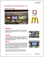 McDonald's Restaurants - UK: ComQi Case Study