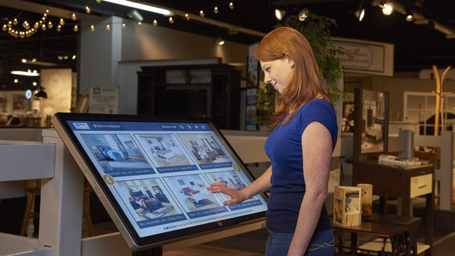 Kiosks help keep brick and mortar stores relevant as e-commerce expands