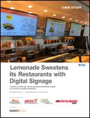 Lemonade Sweetens its Restaurants with Digital Signage