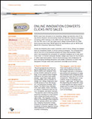 Online innovation converts clicks into sales