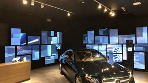 Mercedes-Benz integrates BrightSign media players into pop up store displays