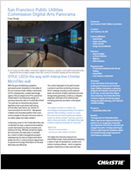 Case Study: San Francisco Public Utilities Commission Digital Arts Panorama | MicroTiles Video Wall