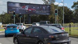 Digital billboard campaign introduces Audi R8 to Australia