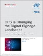 OPS is Changing the Digital Signage Landscape
