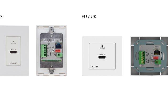 best website 972e7 40c5f Kramer Electronics intros HDBaseT wall-plate transmitter ...