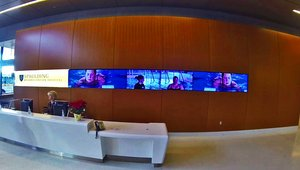 Digital signage rehabs patient experience at Boston Hospital