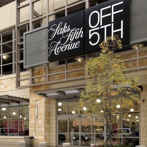 ea79540230 Branding transforms Saks Fifth Avenue OFF 5TH