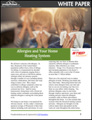Allergies and Your Home Heating System