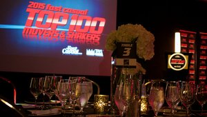<p>About 100 people attended the gala honoring the Top 50 brands on this year's list.</p>