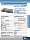 MP70 HD Media Player