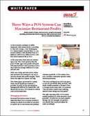 Three Ways a POS System Can Maximize Restaurant Profits