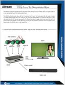 MP60S: 1080p Sound Bar Demonstration Player