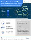 The Total Economic Impact of Diebold Nixdorf's Marketing At The ATM Solution