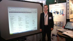 Representing Sitekiosk by Provisio was company president Christoph Niehus.