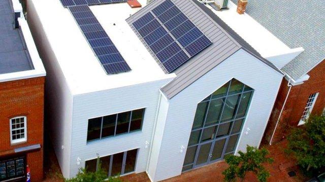 Foundation's historic education center receives sustainability upgrade