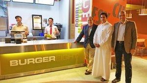 Saudi Arabia-born burger brand takes design cues from US fast casuals