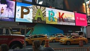 Times Square digital signage kicks off National Parks PSA