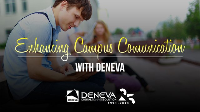 DENEVA Webinar to Enhance Campus Communication
