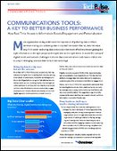 Communication Tools: A Key to Better Business Performance