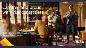 Visa Europe's cashless pitch to Brits paints cash users as weirdos