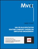 Seating Solutions Company Cheers on Employee Engagement with Digital Signage