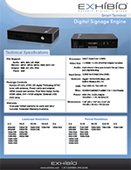 Exhibio ST-200 Technical Specs