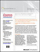 Costco Uses Virtualization to Save Space, Reduce Costs, and Increase IT Agility