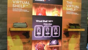 Christie also showcased its virtual shelf for retail deployments.