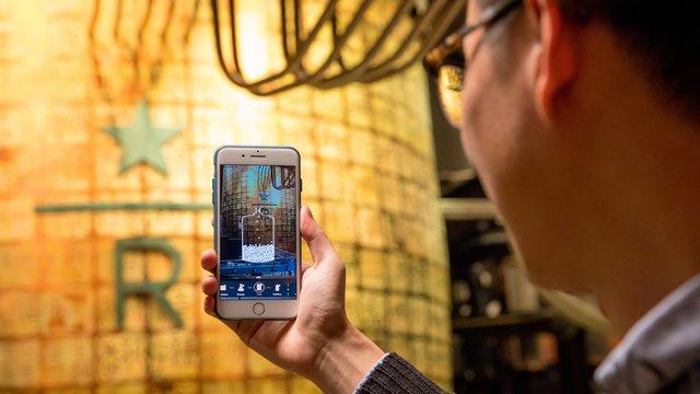 Starbucks launches AR experience in Shanghai