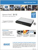 Signature Book™ SI-12 Digital Signage Player