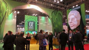 """<p>Lexmark, which is better known for printers and not digitial signage, made its presence known in a big way at the annual National Retail Federation Big Show with a display that gave people the feeling that they were in the wonderful land of Oz. The company <a href=""""http://www.digitalsignagetoday.com/news/lexmark-better-known-for-printers-joins-digital-signage-fray-at-nrf16/"""" target=""""_self"""">highlighted</a> its new digital board offerings at the booth.</p>"""
