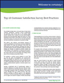 Top 10 Customer Satisfaction Survey Best Practices