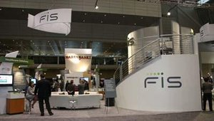 The FIS booth.