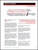 Segmented Touch Digital Technology Aims for Niche